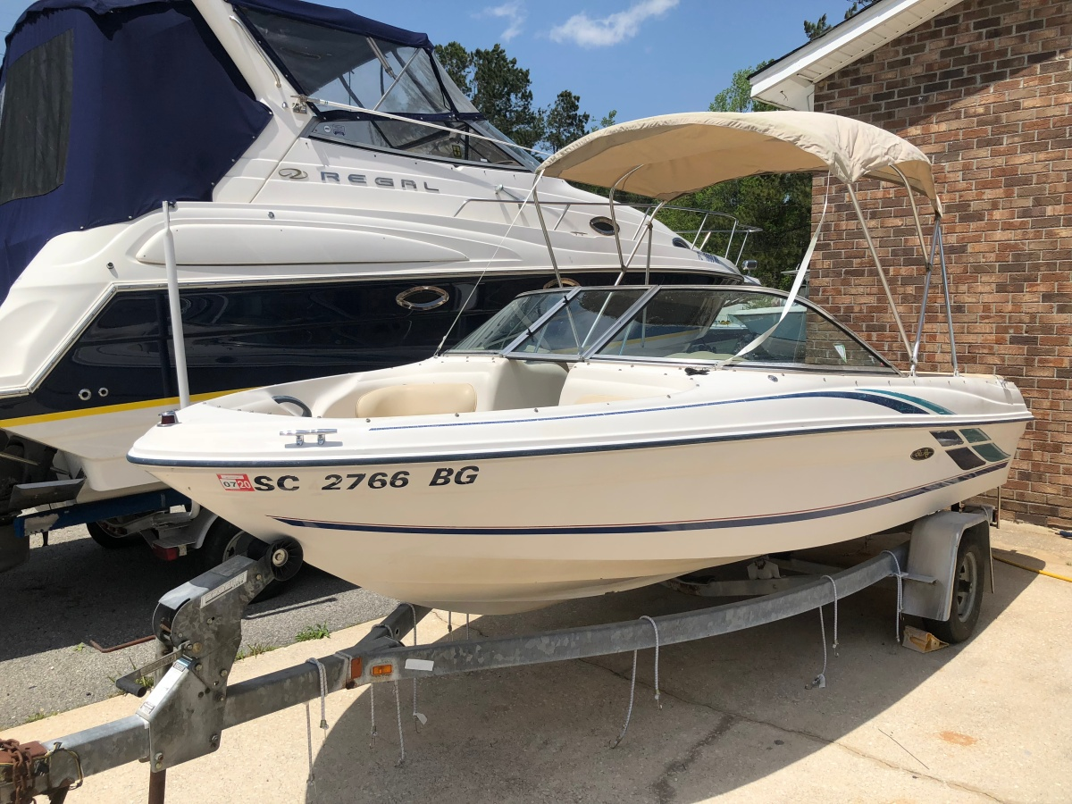 SOLD……1999 SEA RAY 180 BOW RIDER